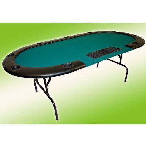 Garthen Profesjonalny składany stół do gry poker dla 10 osób