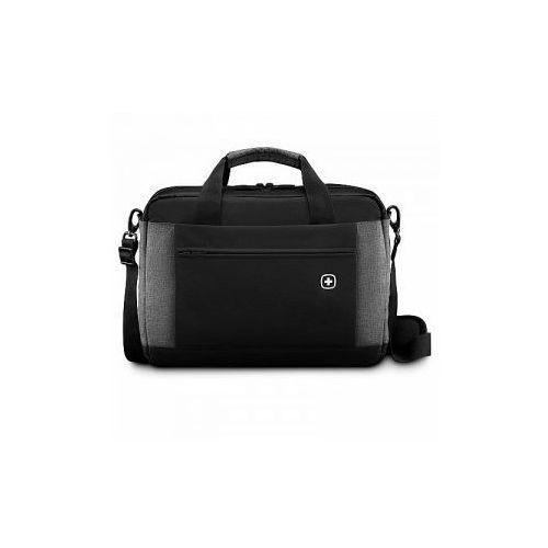 Torba 2 komorowa z kieszenią na laptopa do 16' marki Wenger model Underground - kolor czarny