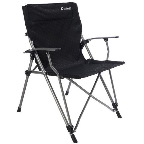 Outwell goya taboret kempingowy czarny krzesła składane (5709388039354)