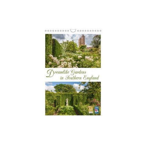 Dreamlike Gardens in Southern England (Wall Calendar 2017 DIN A4 Portrait)