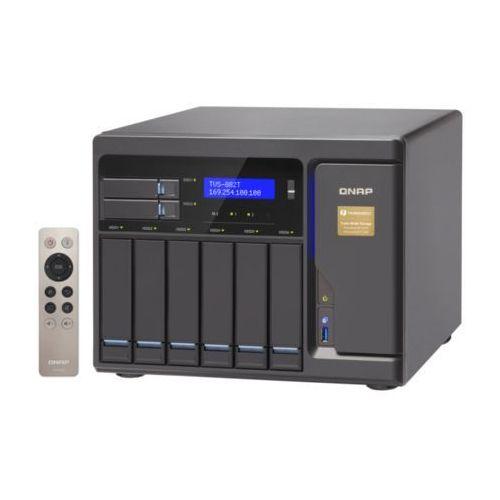 Qnap Serwer nas  tvs-882t-i5-16g, intel® core™ i5-6500 3.6 ghz quad core processor, ram 16gb ddr4 (max. 32gb)