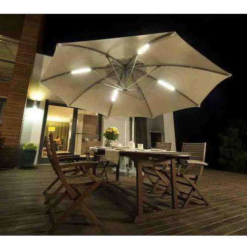 Parasol Ogrodowy Ibiza 3,5m z oświetleniem LED
