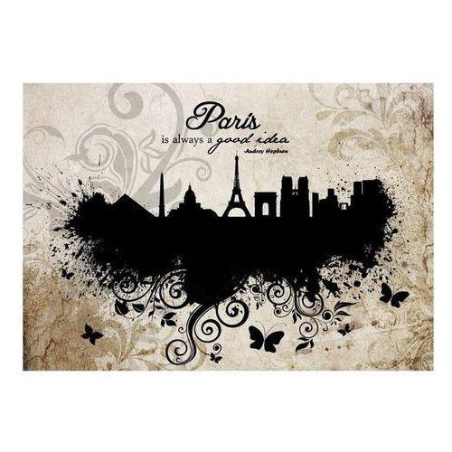 Fototapeta - Paris is always a good idea - vintage