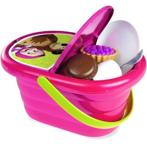 Smoby Kosz piknikowy Masza i niedźwiedź - produkt z kategorii- Pozostałe zabawki