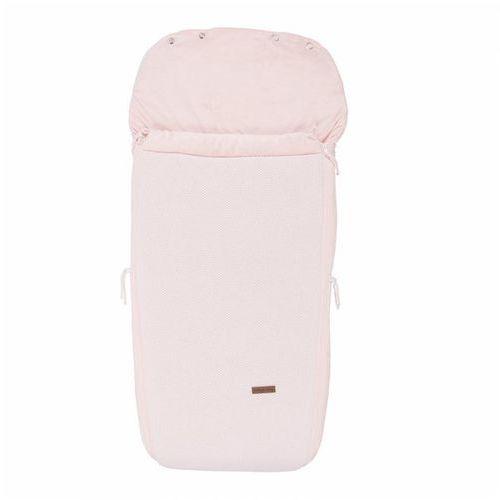 Baby's only , classic classic pink, śpiworek do wózka, różówy