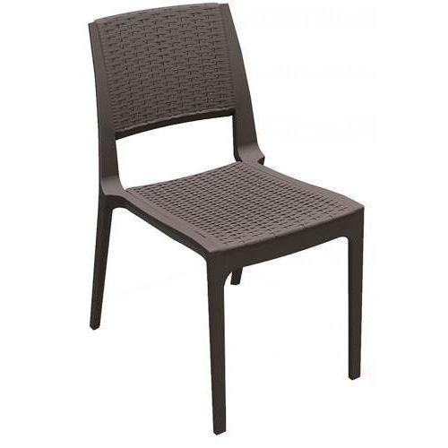 Krzesło modena chocolate marki Domfan design