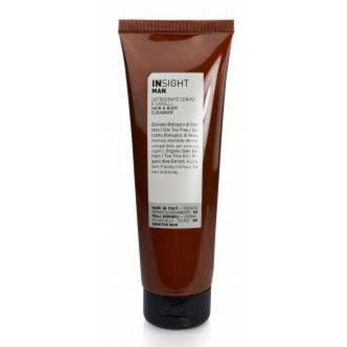 man hair & body cleanser płyn do mycia ciała i włosów (250 ml) marki Insight