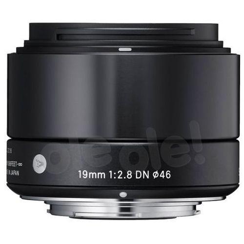 Sigma 19 mm f/2,8 DN A (czarny) - produkt w magazynie - szybka wysyłka!