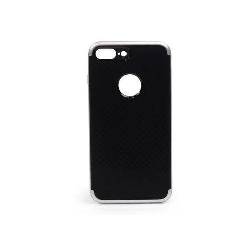 Apple iPhone 7 Plus - etui na telefon Ipaky - Srebrny, kolor szary
