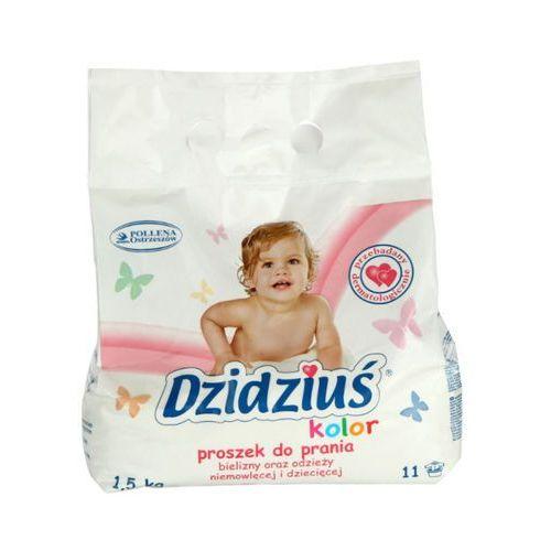 Pollena Dzidziuś 1,5kg kolor proszek do prania dla dzieci (11 prań)