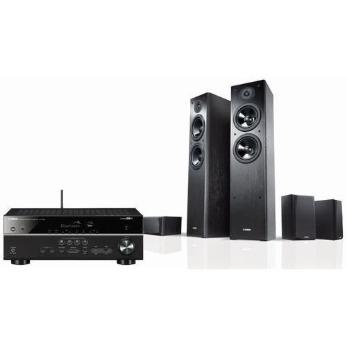 Yamaha Kino domowe rxv483 + nsf51b + nsp51b czarny