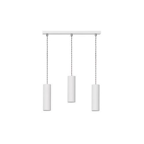 Lampa wisząca Rollg 3 biała