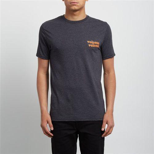koszulka VOLCOM - Peek A Boo Hth Ss Heather Black (HBK) rozmiar: M, kolor czarny