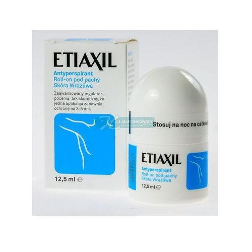 OKAZJA - Riemann and co Etiaxil roll-on pod pachy, antyperspirant, skóra wrażliwa, 12,5 ml