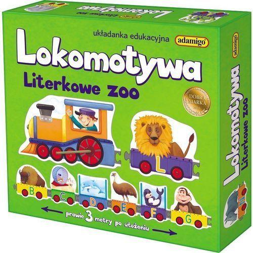 Adamigo Lokomotywa literkowe zoo (5902410007219)