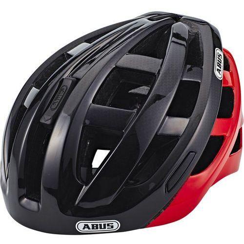Abus in-vizz ascent kask rowerowy czerwony/czarny l | 58-62cm 2018 kaski rowerowe