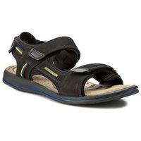 Sandały GREGOR - 01630-ME-NT10 Czarny/Niebieski, 40-45