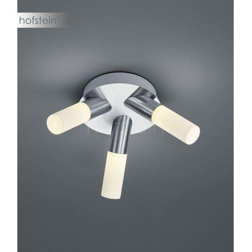 Trio Plafon lampa sufitowa dylan 683310307 natynkowa oprawa tuby led 12,9w do łazienki ip44 nikiel białe