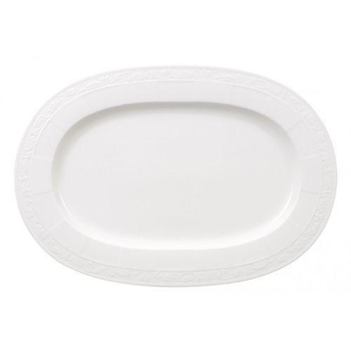 Villeroy & boch - półmisek owalny 41cm - white pearl 10-4389-2940