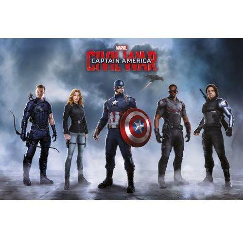 Kapitan Ameryka Wojna Bohaterów Drużyna Kapitana Ameryki - plakat (5050574338288)