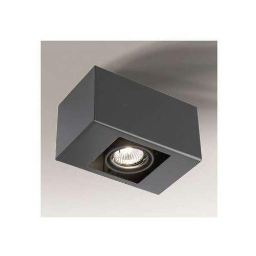 Shilo Spot lampa sufitowa seto 1136/gu10/sz natynkowa oprawa łazienkowa szary