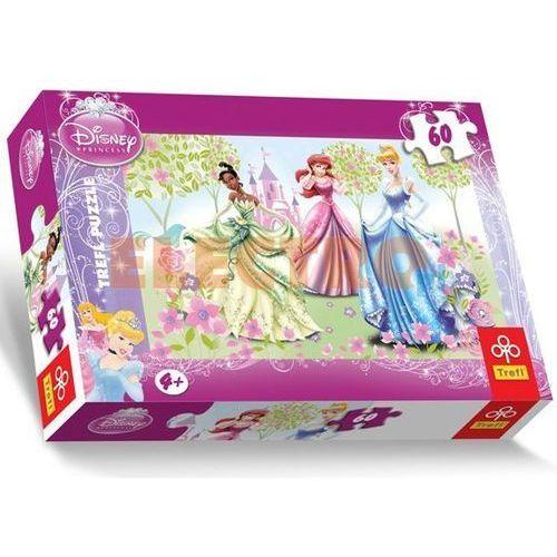 PUZZLE 60 Księżniczki. Spacer po ogrodzie, 5900511171914_581200_001