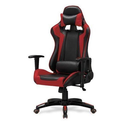 Style furniture Champion fotel gamingowy dla graczy czarno-czerwony
