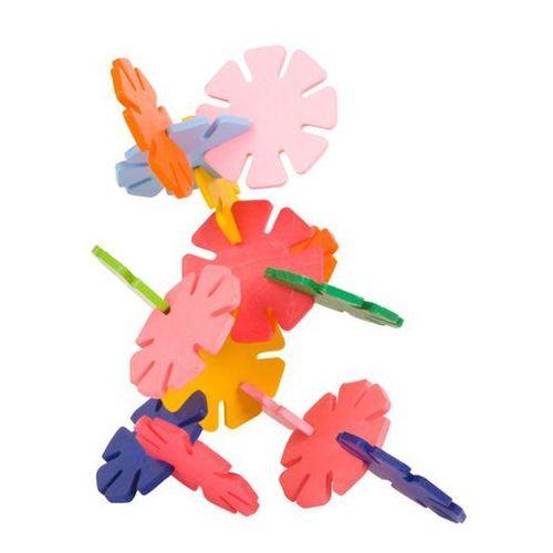 Gwiazdki do budowania 72 elementy, zabawka zręcznościowa dla dzieci