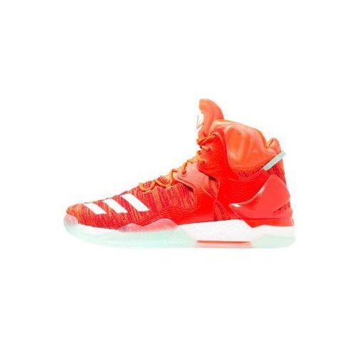 adidas Performance 7 PRIMEKNIT Obuwie do koszykówki solar red/white/ice green (4056565132379)