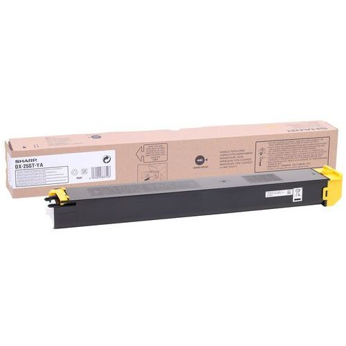 Toner Sharp DX-25GT-YA Yellow do kopiarek (Oryginalny) [7k]