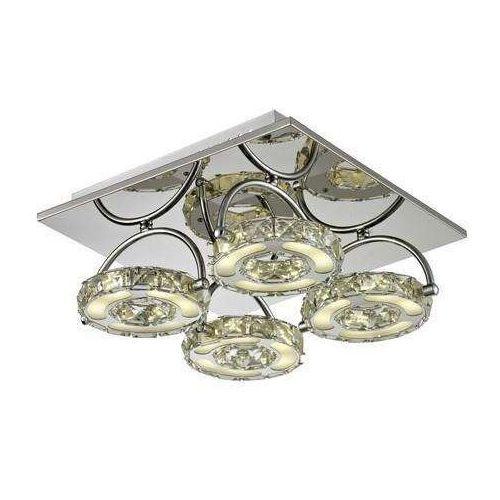 Plafon lampa sufitowa Reality Diamond 4x5W LED chrom / kryształ 615004-06, 615004-06