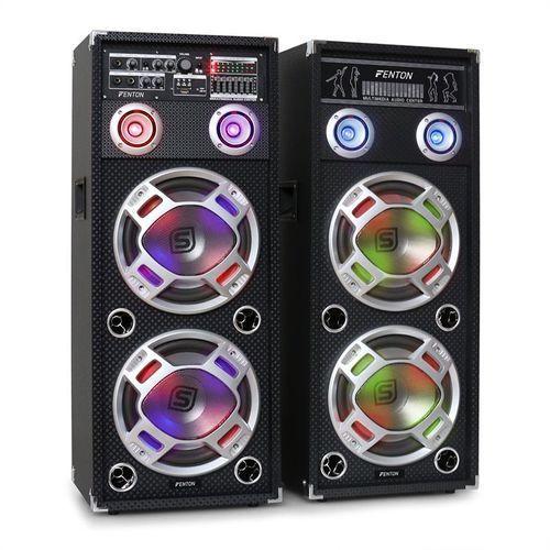 Skytec ka-210 zestaw aktywnych głośników pa karaoke,usb,sd, aux
