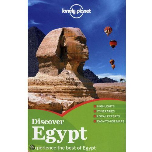Egipt Lonely Planet Discover Egypt (9781742202242)