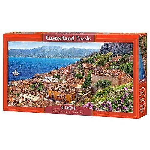 Puzzle 4000 elementów. monemvasia greece marki Castor