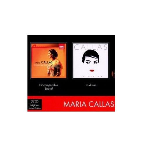 Callas Maria - L'Incomparable / La Divina [Limited Edition] [2CD] (5099964691923)
