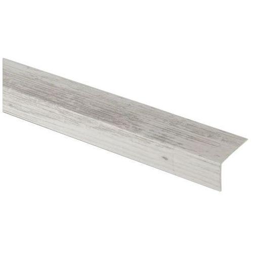 Goodhome Profil schodowy 35 x 25 x 1200 mm jasne drewno