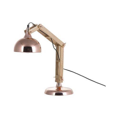 Beliani Lampa stołowa miedziana 53 cm salado (4260586356397)