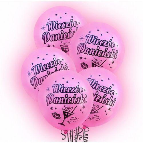 Dp Balony lateksowe świecące wieczór panieński - 30 cm - 5 szt. (5907509901058)
