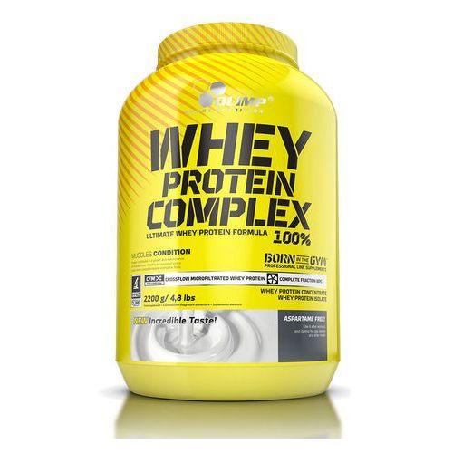 Olimp Izolat białka whey protein complex 100% 2200g pomarańcza z marakują  (: )