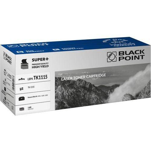 Toner zamienny Black Point LBPKTK1115 dla Kyocera TK-1115 czarny na 1600 stron - KURIER UPS 14PLN, Paczkomaty, Poczta (5907625623612)