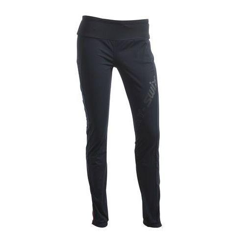 spodnie do narciarstwa biegowego cloudy black l marki Swix