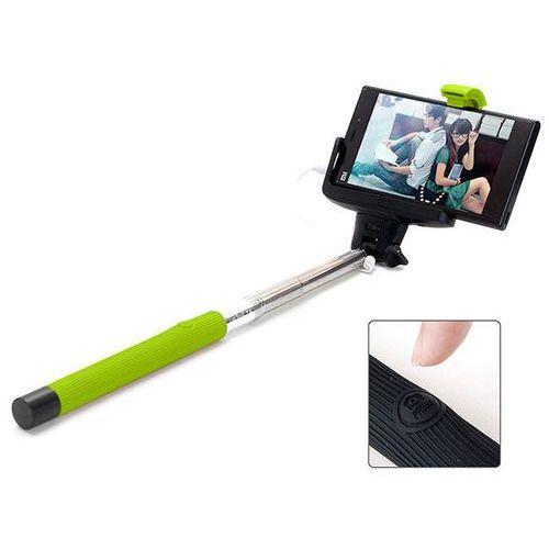 Zielony Uniwersalny uchwyt Selfie Stick do aparatów i smartfonów Monopod Z07-7 - Zielony
