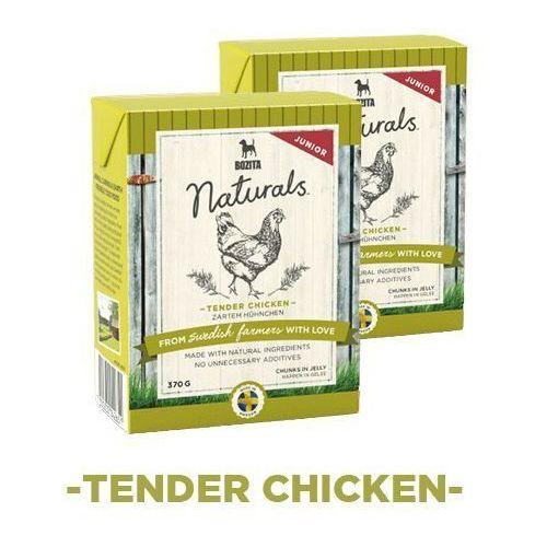 Bozita naturals junior - karma dla psów, delikatny kurczak, 370 g