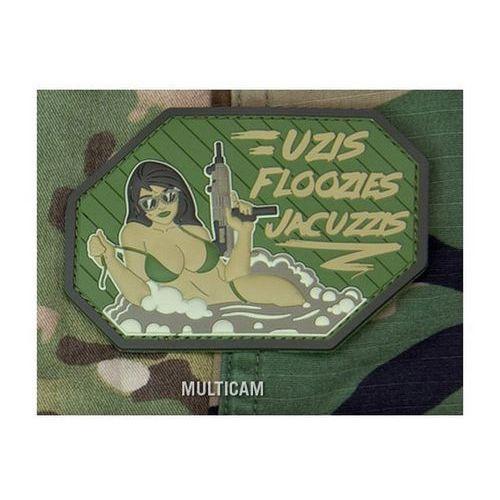Naszywka Mil-Spec Monkey Uzis Floozies Jacuzzis PVC Multicam, msmpatch-00232-multicam