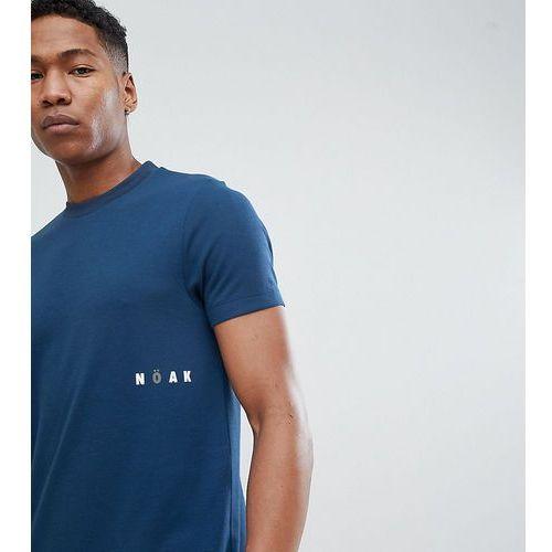 Noak t-shirt in sports jersey with printed logo - Navy, w 5 rozmiarach