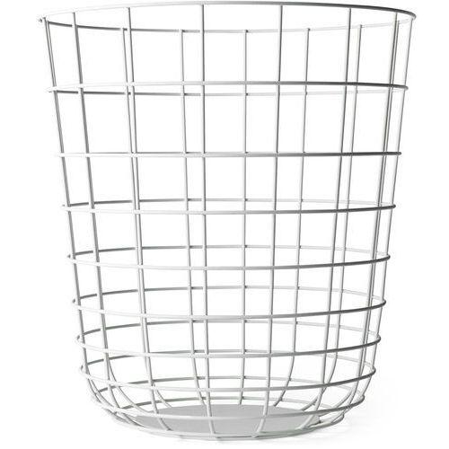 Kosz druciany Wire Bin, biały - Menu (5709262961818)