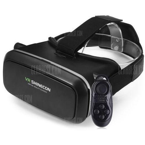 VR SHINECON 3D VR Glasses with B100 Remote Control