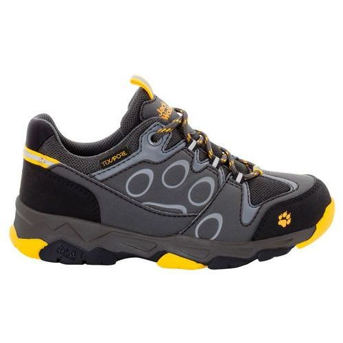 Jack wolfskin Buty mtn attack 2 texapore low kids - burly yellow
