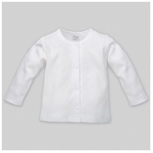 Kaftanik rozpinany, white / biały, marki Pinokio