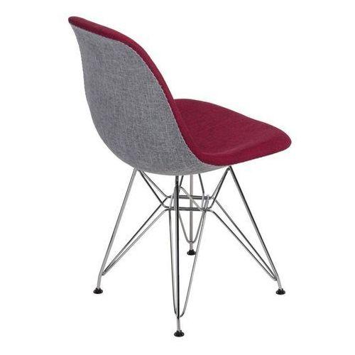 Krzesło P016 Duo inspirowane DSR - szary ||czerwony (5902385722902)